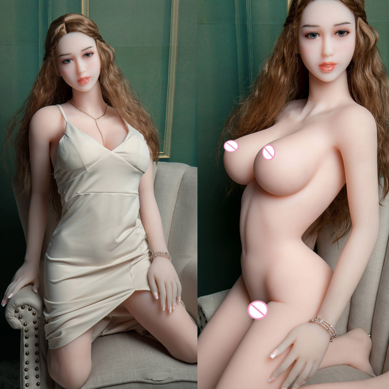 <font><b>158cm</b></font> <font><b>Sex</b></font> <font><b>Doll</b></font> <font><b>TPE</b></font> Silicone Adult Silicone Full True Love <font><b>Doll</b></font> Realistic Big Boobs Big Hips Sexy Vaginal Anal Big Chest <font><b>Doll</b></font> Ass image