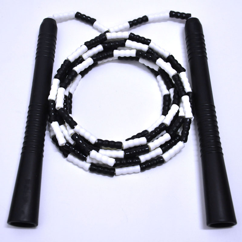Exercise Game Jump Rope Beads Students Figure Bamboo Joint Soft Fine For Both Men And Women Can Be Plastic