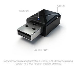 Image 5 - מיני Bluetooth 5.0 אודיו מקלט משדר 3.5Mm Aux אלחוטי מתאם עבור רכב Pc טלוויזיה רמקול אוזניות Usb כוח