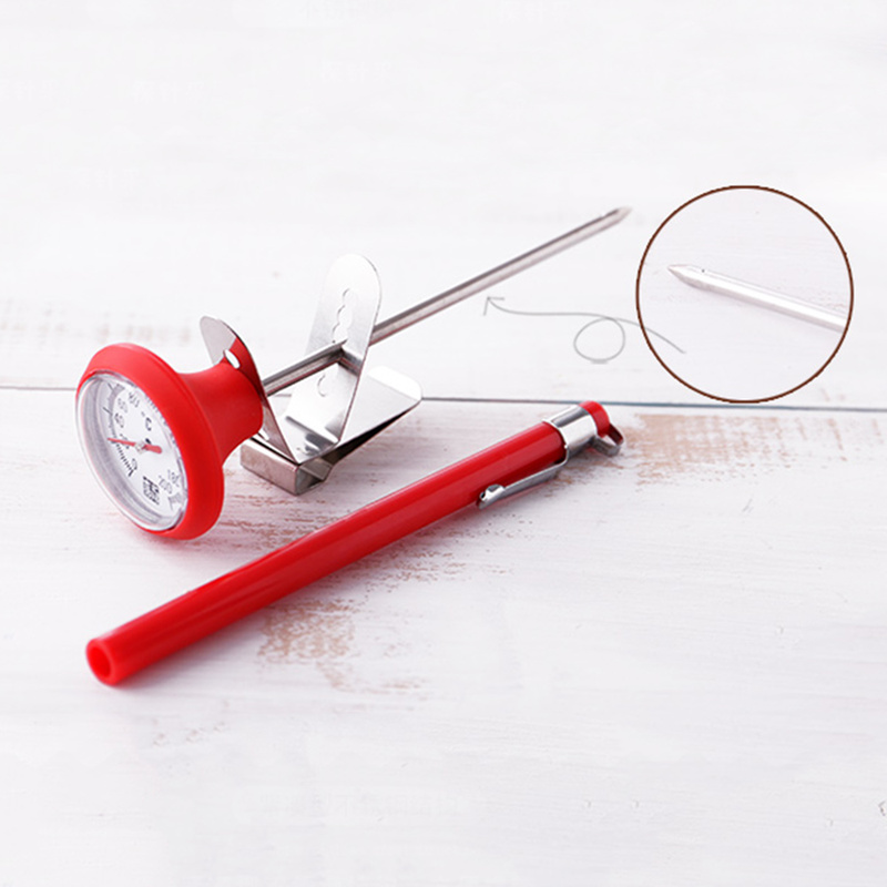 New Stainless Steel Kitchen Food Cooking Milk Coffee Probe Thermometer