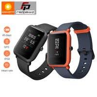 """[Angielska wersja] HUAMI Amazfit młodzieżowy inteligentny zegarek Bip BIT tempo lite 32g ultralekki ekran 1.28 """"wodoodporny kompas GPS"""
