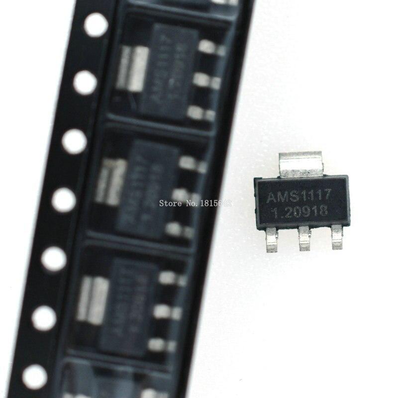 20PCS AMS1117 Series AMS1117-3.3V AMS1117-ADJ AMS1117-1.8V AMS1117-1.2V AMS1117-5.0V AMS1117-2.5V AMS1117-3.3 AMS1117-5.0