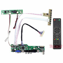 Yqwsyxl TV+HDMI+VGA+USB LCD LED screen Control Board Kit work for M270HW02 M236HGE LM230WF5 HM215WU1 M215HGE M215HW01 T215HVN01(China)