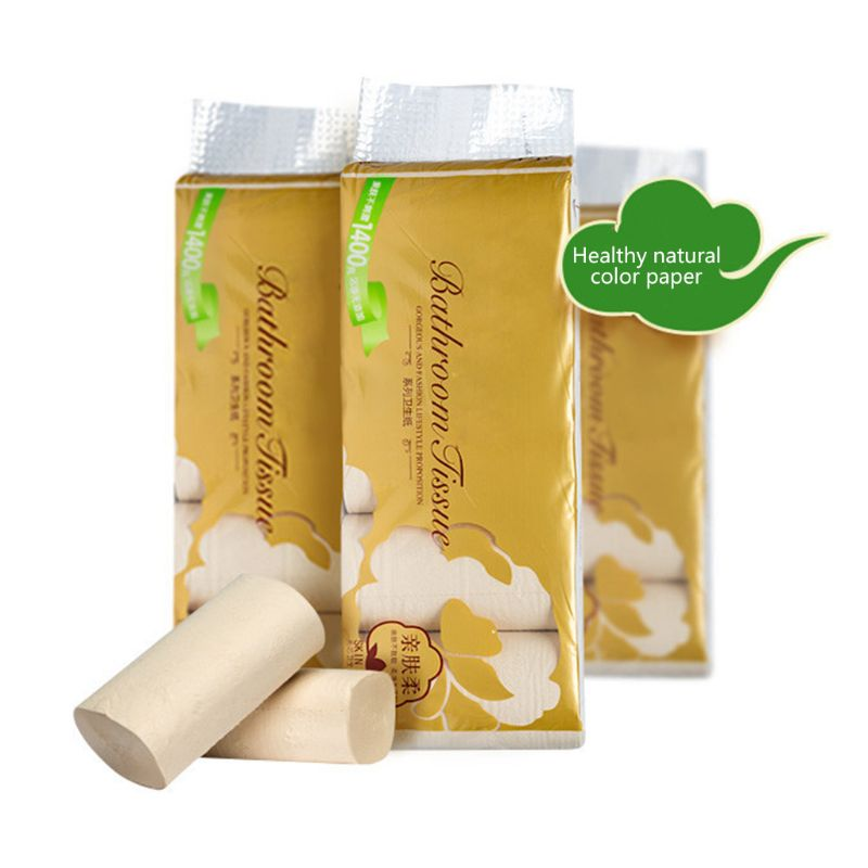 10 Rolls/bag Of Paper, Toilet Paper Roll Paper For Home Bathroom X7YB