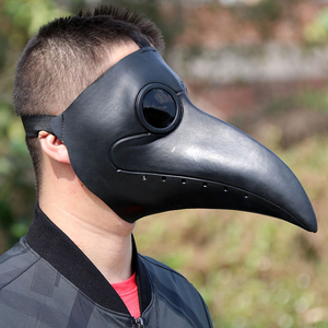 Image 1 - Retro Steampunk Plague Doctor Cosplay Mask Bird Gothic Punk Funny Latex Party Halloween Costumes Props