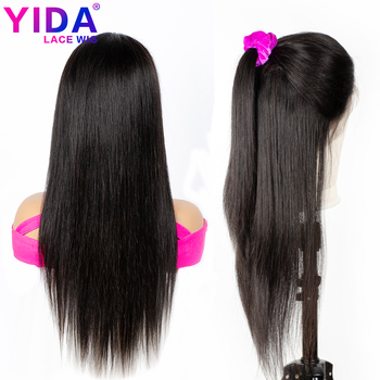 360 Lace Frontal Wig Straight 13x4 Lace Front Human Hair Wigs 150% Density Brazilian Remy Wigs 10-26Inch YIDA Wig
