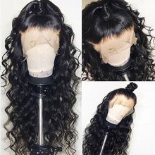 цена на Fureya Wave Fake Scalp Wigs 13x6 Lace Front Human Hair Wigs Pre Plucked With Baby Hair Brazilian Remy Lace Wigs Bleached Knots