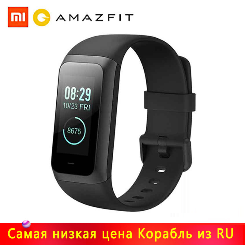 Original Huami <font><b>Amazfit</b></font> <font><b>Cor</b></font> <font><b>2</b></font> Smart <font><b>Bracelet</b></font> Band <font><b>2</b></font> Fitness Activity Tracker Waterproof for Android IOS Iphone 20 days Standby image