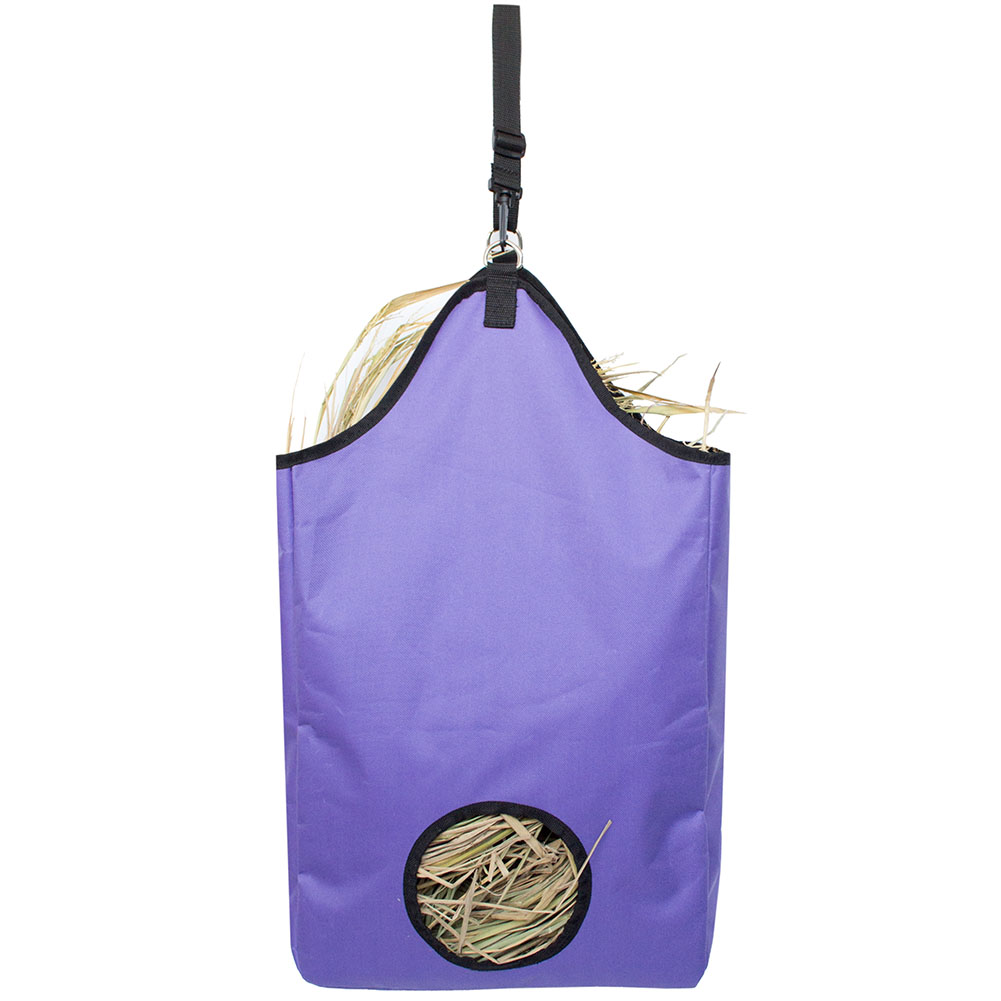 Outdoor Lightweight Storage Round Hole Farm Wear Resistant Hay Bag Waste Reduce Cattle Practical Large Capacity Horse Feeding