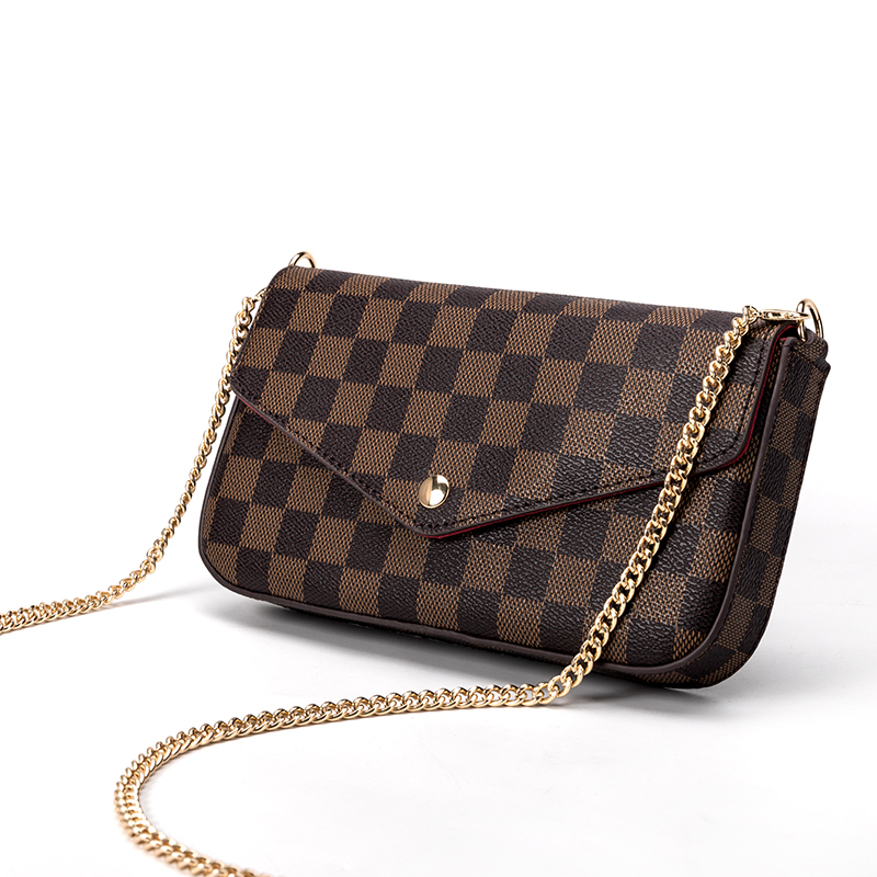 KYYSLB Lock Chain Design Luxury Women Bag European And American Fashion Women Shoulder Bag PU Leather High Quality Messenger Bag