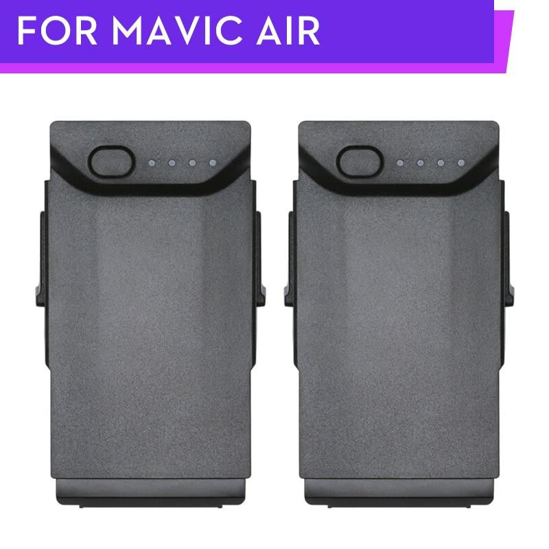 Original Mavic Air Battery Intelligent Flight Batteries Max 21-min Flight Time 2375mAh 11.55 V For DJI Mavic Air Drone 2PCS