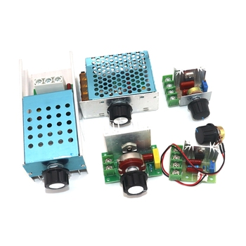2000W AC220V SCR Dimming Dimmers Voltage Regulator  Motor Speed Controller Thermostat Electronic Voltage Regulator Module voltage regulator 4000w ac 220v scr power regulator dimming dimmers motor speed controller thermostat electronic module