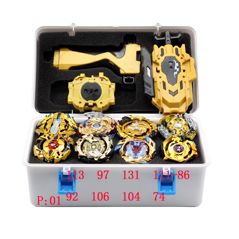 New Launchers Beyblade Toupie Bayblades Metal Gold Bables Set Burst Fafnir Box Bey Blade Bey Blade Toys For Childn
