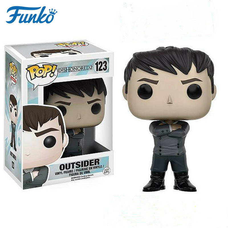 Funko POP action toy figures  children toys anime figure toys for boys 10cm The Outsider Movie action figure popular toys gift
