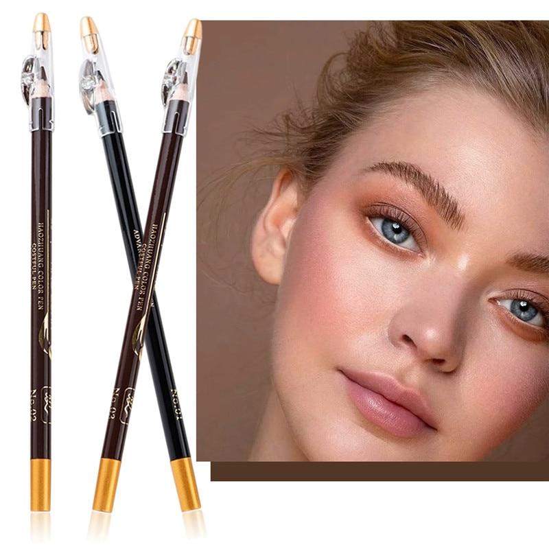 Карандаш для бровей водостойкий подводка для глаз и бровей Карандаш для бровей карандаш для макияжа косметический инструмент стойкий кори...