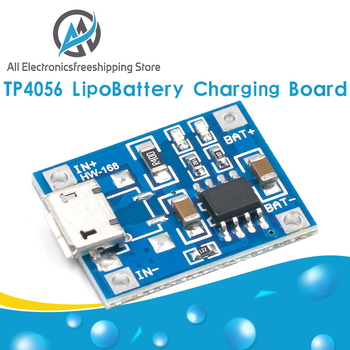 10pcs TP4056 1A Lipo Battery Charging Board Charger Module lithium battery DIY MICRO Port Mike USB New Arrival - discount item  13% OFF Electrical Equipment & Supplies