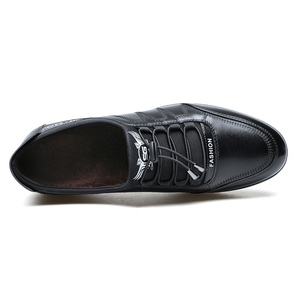 Image 3 - 2019 Fashion Cow Genuine Leather Shoes Men Casual Slip on Driving Runing Men Loafer Black Luxury Mens Shoes Sneakers Moccasins