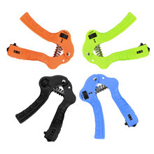 Gym Fitness Automatic Counting Hand Grip Men Adjustable Finger Heavy Exerciser Strength for Muscle Recovery Gripper Trainer