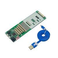 Ly kt10 KT 10 universal portátil teclado testador dispositivo de teste máquina ferramenta interface usb|Estações de solda|   -