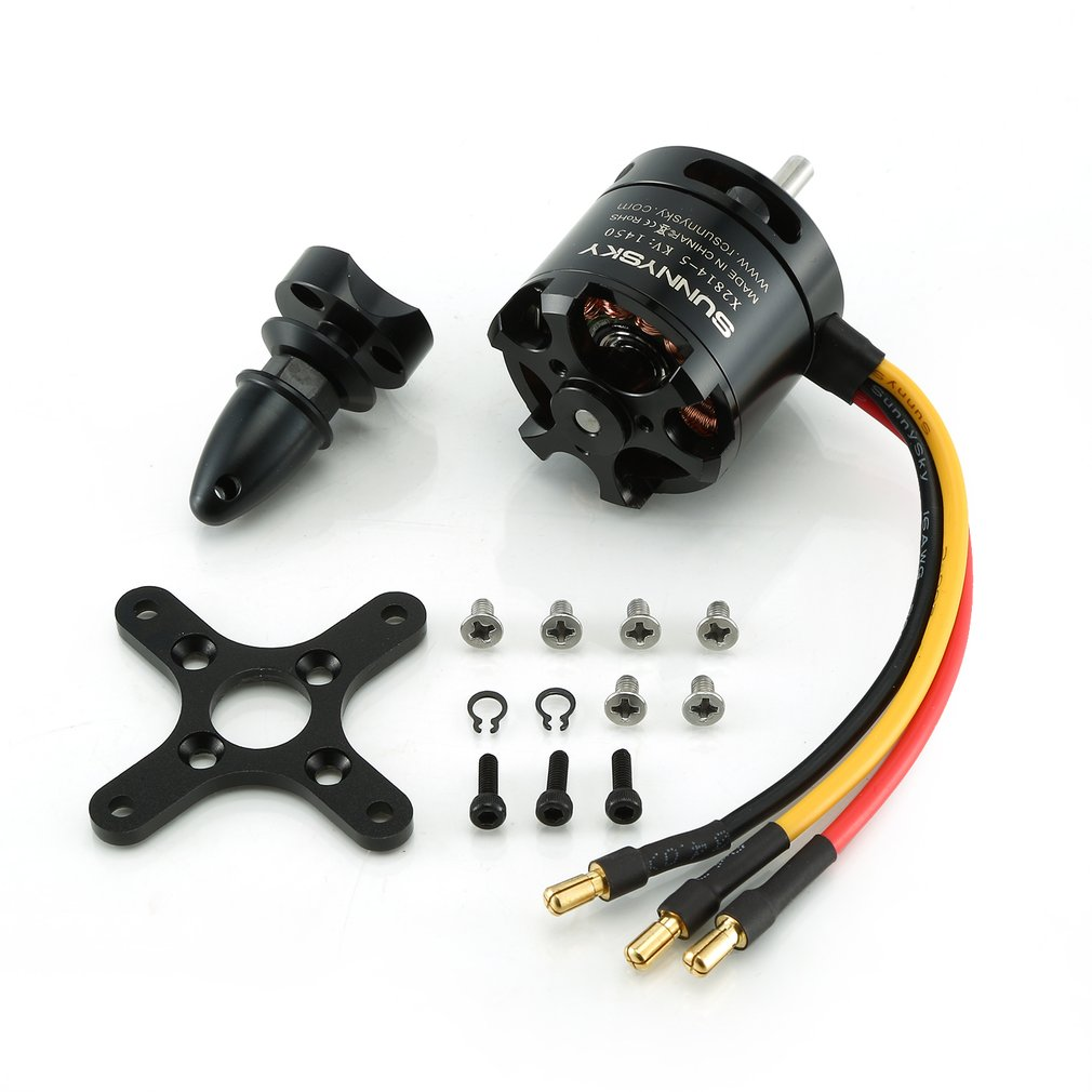 SunnySky X2814 X-II <font><b>1450KV</b></font> Brushless Motor High Power RC Drone Outrunner Motor for RC Models Drone Fixed-wing Airplane image