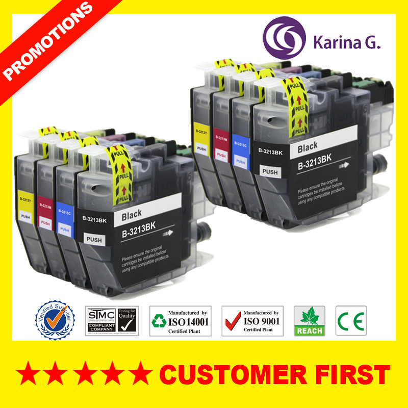 Compatible For Brother LC3213 LC3211  Ink Cartridge  Suit For Brother MFC-J890DW MFC-J895DW DCP-J772DW DCP-J774DW Etc.
