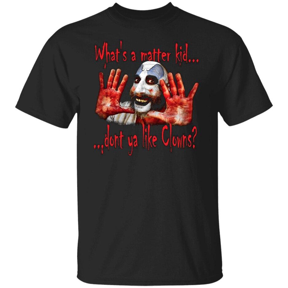 Captain Spaulding Black T-Shirt For Women Men Short Sleeve Men Clothes Tee Shirt