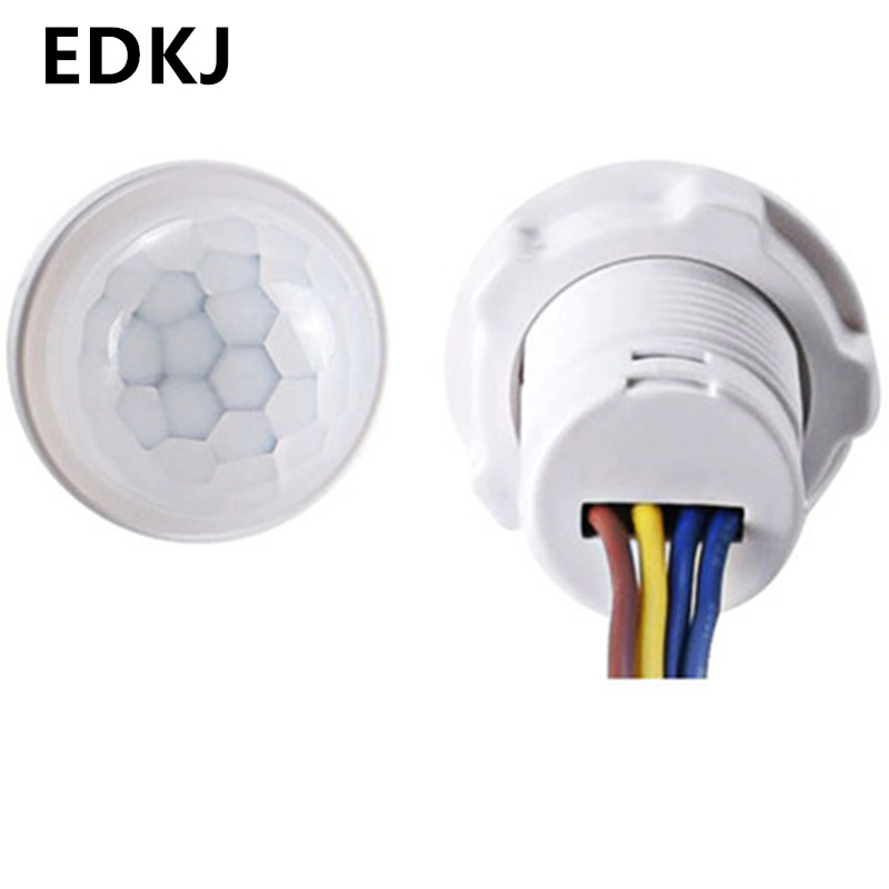 Светодиодный датчик 10 в 220 В, детектор PIR, умный переключатель, автоматический сенсорный выключатель света Выключатели    АлиЭкспресс