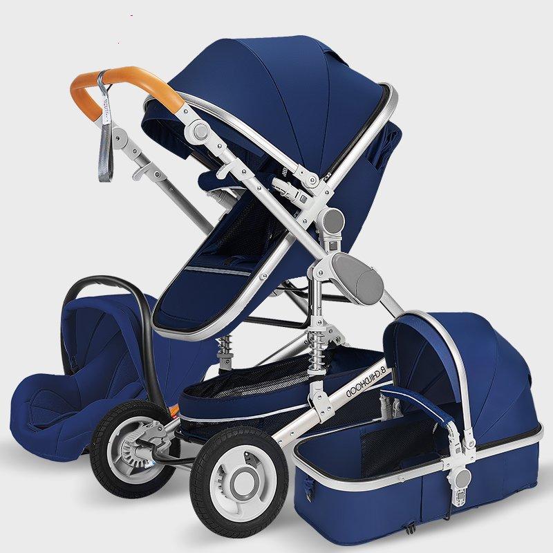 Baby Stroller 3 In 1 Pram With Car Seat Travel System Baby Stroller With Car Seat Newborn Baby Comfort Kinderwagen 0~36 Months