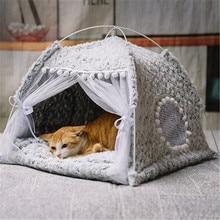 Four seasons universal cathouse cat tent cat house semi-closed princess pet bed doghouse villa summer winter