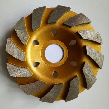 4 Inch Thick Angle Grinders Concrete Abrasive Stone Bowl Diamond Grinding Disc Marble Cup Grinding Wheel Abrasive Disc 5 inch 125mm single row cup wheel for concrete grinding disc grinding wheel bore 22 23mm