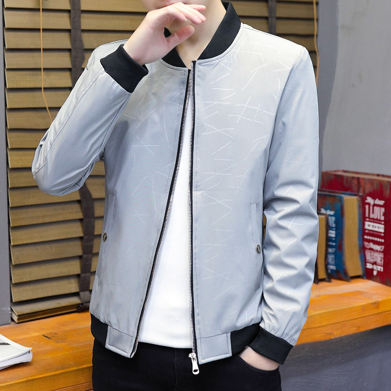 M-4XL  New Mens Jackets in Spring and Autumn/Korean Fashion Leisure