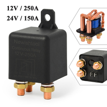 250A/150A 12V 24V High Power Car Truck Motor Relay Continuous Type Auto On/Off Normally Open 5Pin Battery Control Switch Relays