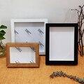 Рамка для фотографий в скандинавском стиле «сделай сам», внутренняя глубина 2 см, для отображения трехмерных работ, фоторамка для декора