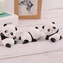 Vivace carino Panda Ornamenti Decorazione Mini Bambola del Panda accessori Auto per Auto Console centrale Decorazione Interni