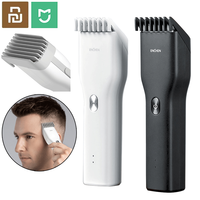 Mijia ENCHEN Boost USB Electric Hair Clipper Charging Hair Trimmer Children Clipper Mijia 2 Speed Ceramic Cutter Hair Cutting