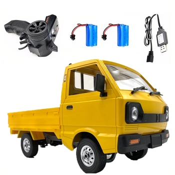 for WPL D12 SUZUKI CARRY 1/10 4WD Simulation Drift Truck Climbing Car LED Light RC Car Toys Boys Kids Gifts image