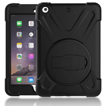 Case For iPad Mini 4 Pirate king Silicon Full Protect Shockproof 360°Rotate Stand Back Cover Apple 8 Inch