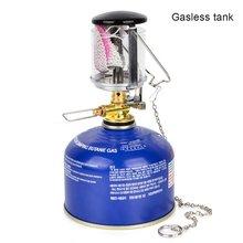 60LUX Мини Портативный кемпинговый фонарь, газовый светильник, наружный тент, фонарь, подвесной стеклянный фонарь, в качестве топлива для путешествий n