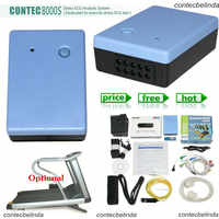 CONTEC 8000s WiFi Wireless 12-Lead STRESS TEST SYSTEM EKG MACHINE WiFi software Promotion Price Factory Sale