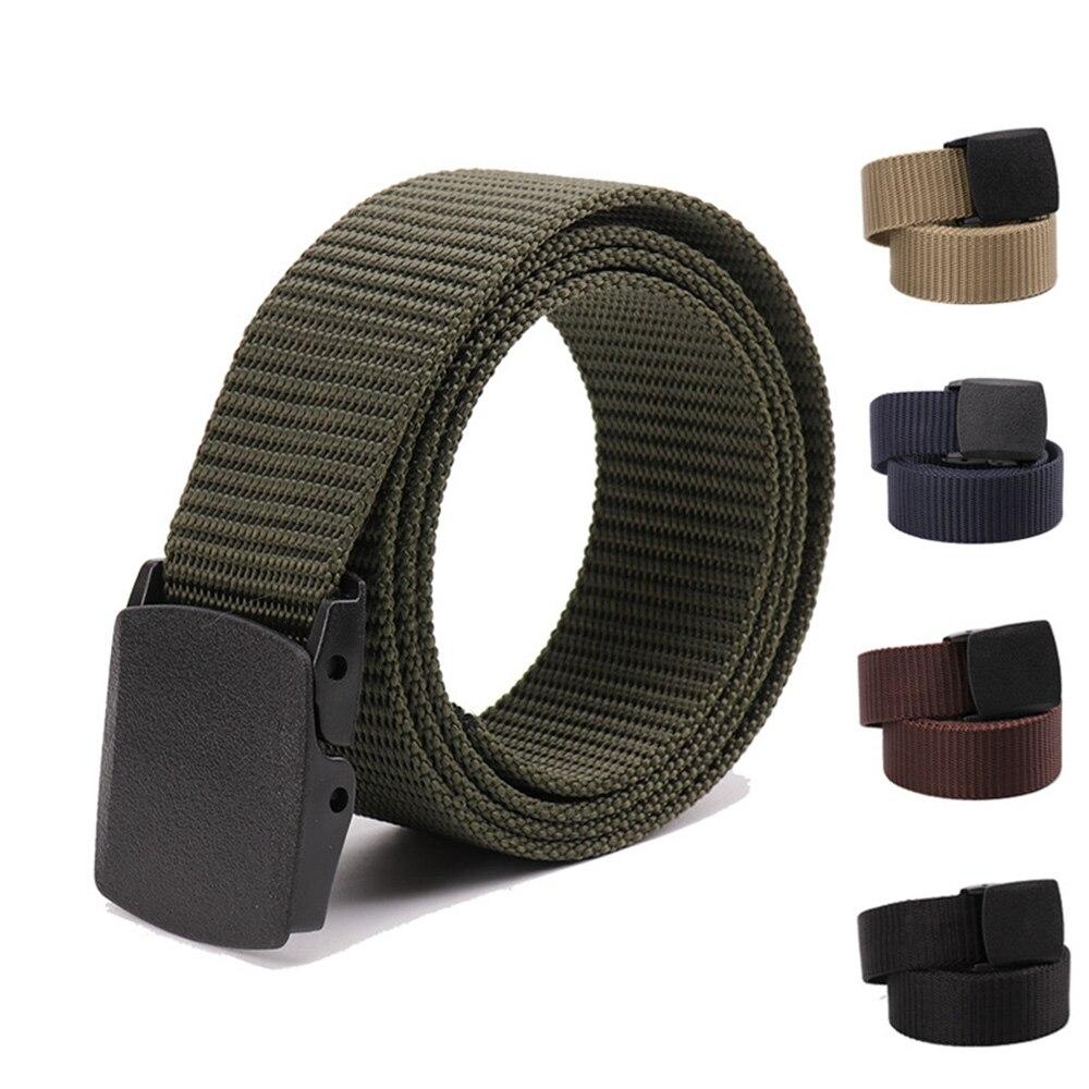 Degli uomini della Cinghia di Nylon Cintura In Tessuto militare esterno tattico Stile Cintura Cinturon cinture maschili per gli uomini di lusso ceinture tissu homme