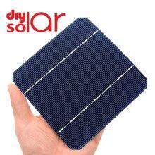 10 50 100 sztuk 2.8 W 125x125 MM tanie Mono ogniwa słoneczne 5x5 klasy A monokrystaliczne PV DIY fotowoltaiczne Sunpower C60 Panel słoneczny