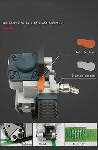 Image 4 - ترقية يده هوائي آلة الربط B19 PP الحيوانات الأليفة أداة الربط البلاستيكية