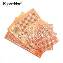 2Pcs 5*7cm pcb Prototype Paper Copper PCB 5*7 Universal Experiment Matrix Circuit Board 5x7cm Brand icprovider
