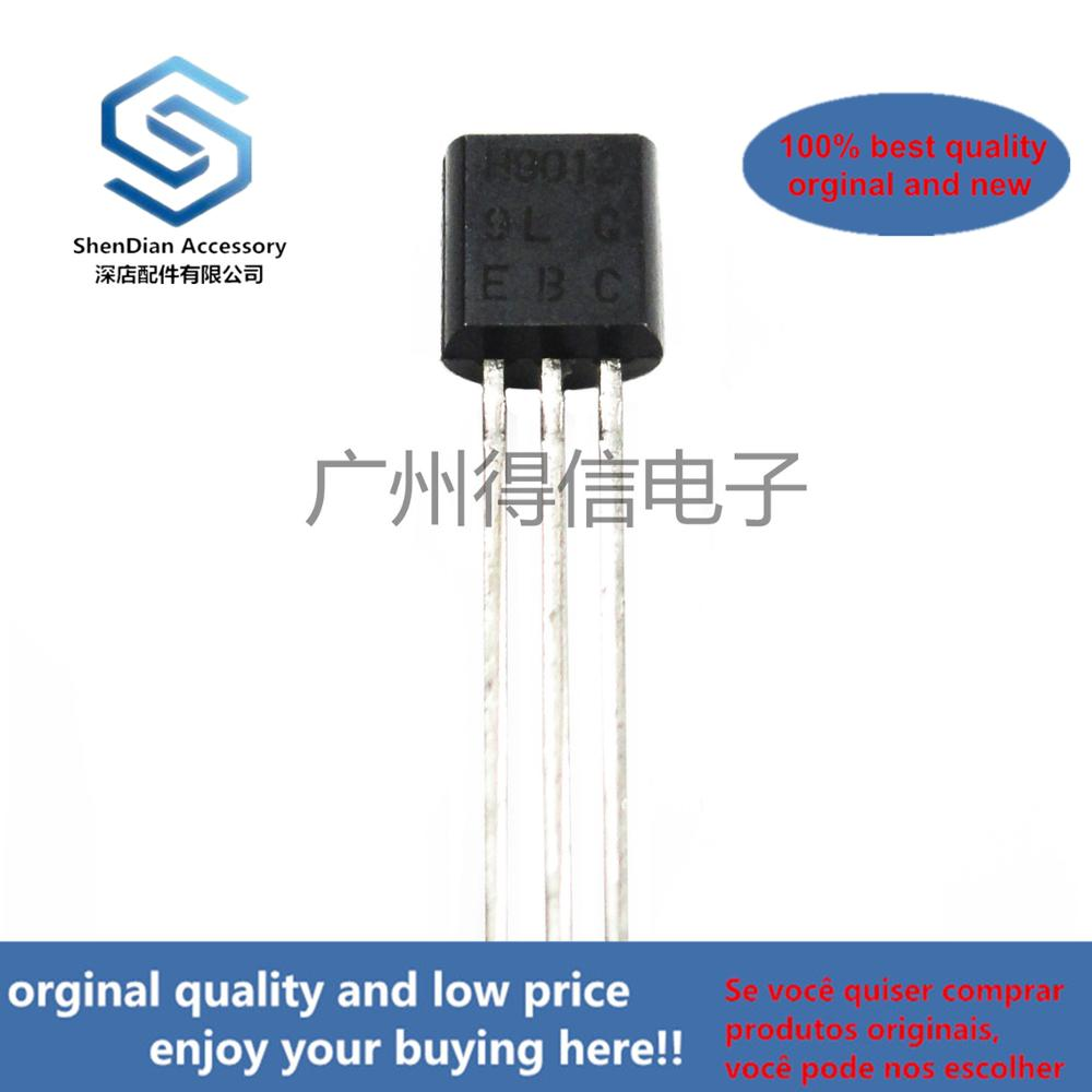 50pcs 100% Orginal New H9012 9012 TO-92 PNP SILICON TRANSISTOR Real Photo