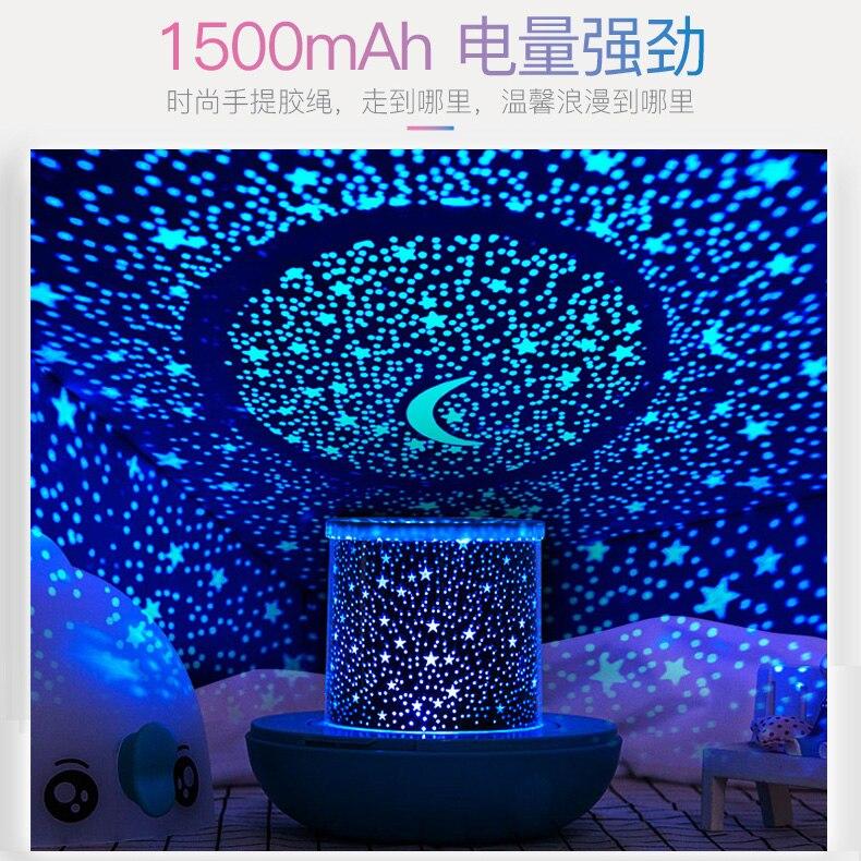 Estrela projetor luzes da noite criativo romântico