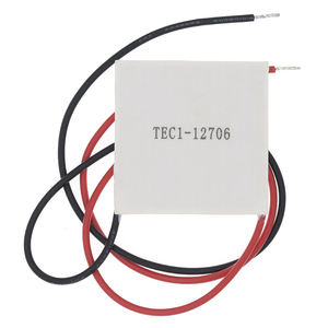 Image 1 - 50pcs 100% New the cheapest price TEC1 12706 TEC 1 12706 57.2W 15.2V TEC Thermoelectric Cooler Peltier (TEC1 12706)