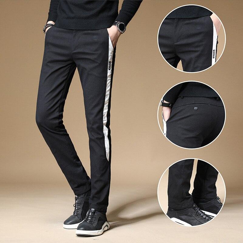 Wu Jian Dao 2019 Summer Popular Brand Hip Hop Men's Skinny Pants Loose-Fit Versatile Casual Pants Beam Leg Men Elastic Pants