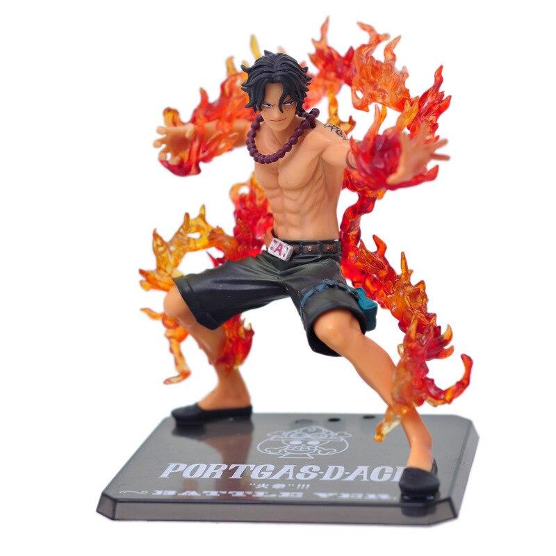 Anime una pieza figura de puño de fuego Ace Combat edición de la guerra nace Portgas D. Ace figuras de acción de PVC juguetes de modelos de colección
