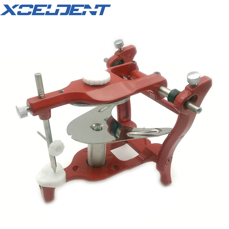 1pcs Surgical Dental Articulator Stainless Steel Dental Operating ASA Red Articulator Dentistry Tools