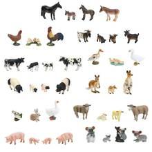 Моделирование Модель животных для родителей и детей набор игрушек